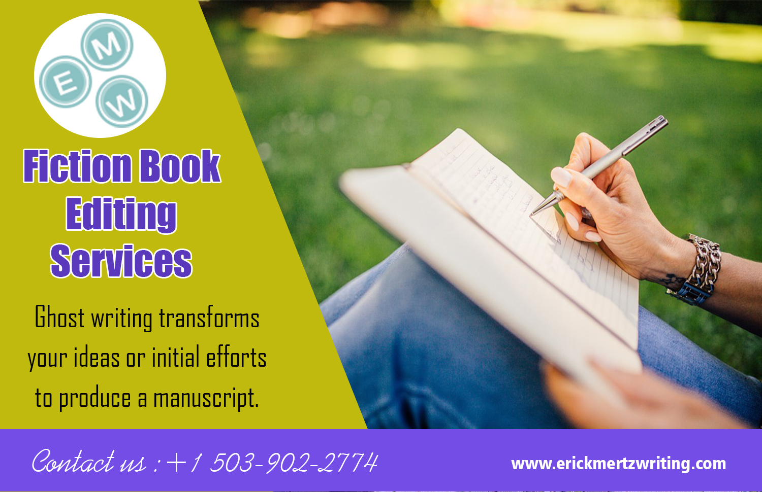 Fiction Book Editing Services