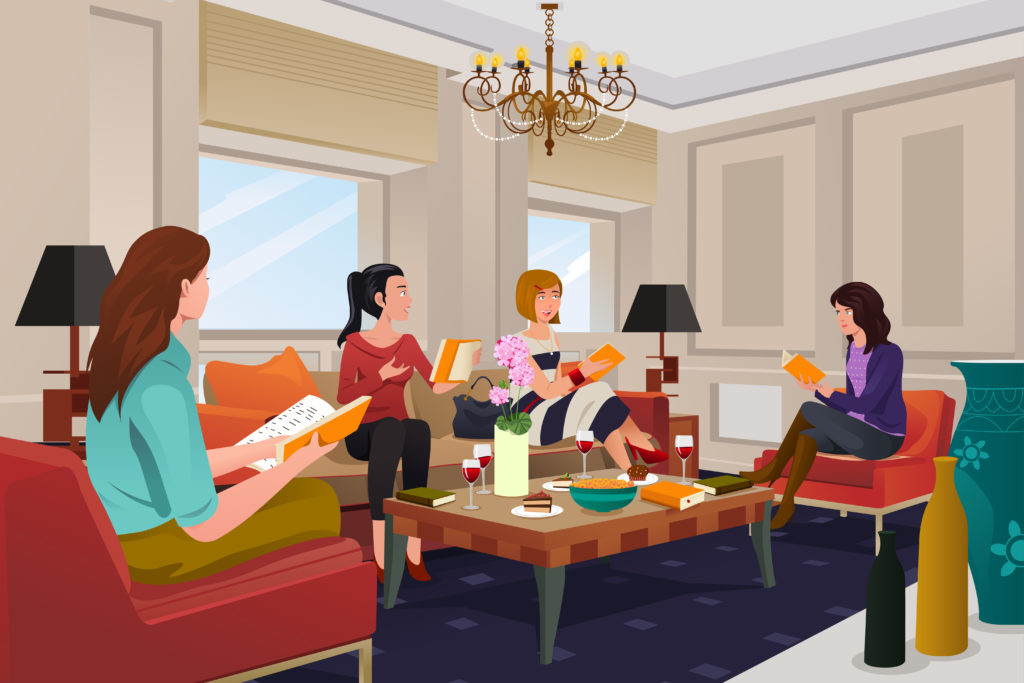 book clubs, ghostwriting services